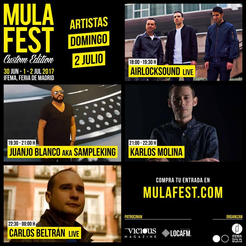 (Español) Airlocksound Live @ Mulafest 2017